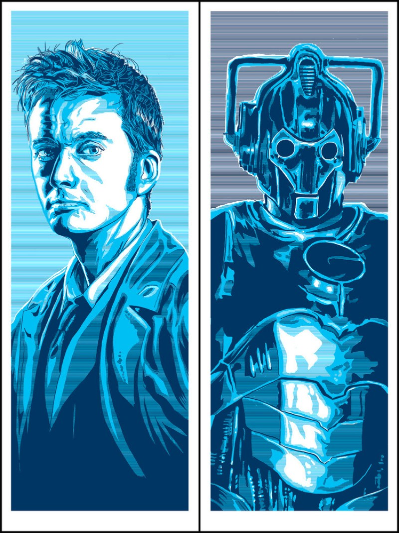 DOCTOR WHO Portrait Series
