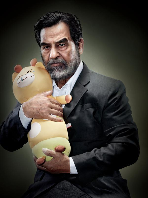 Infamous Dictators With Their Stuff Toys