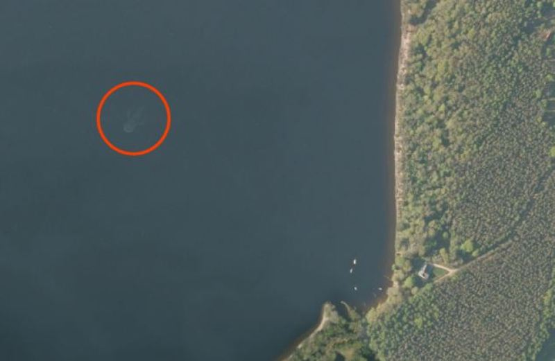 Loch Ness Monster Spotted in Google Earth