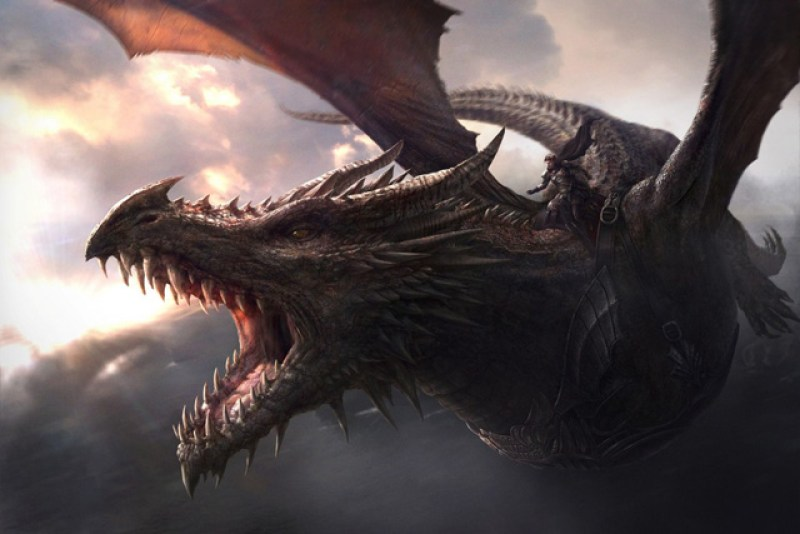 game of thrones dragon