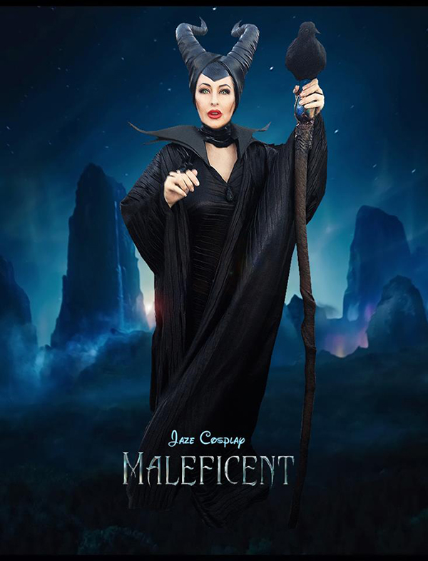 Marvelous And Terrifying Maleficent Cosplay