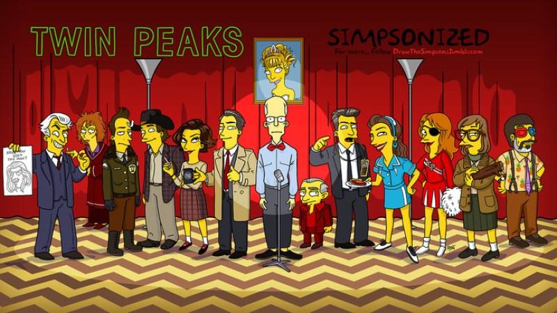 simpsonized-twin-peaks-characters