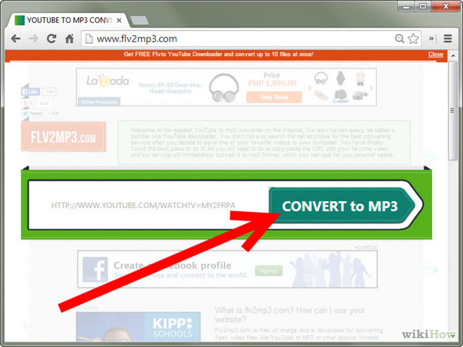 App which could convert your fav videos to mp3