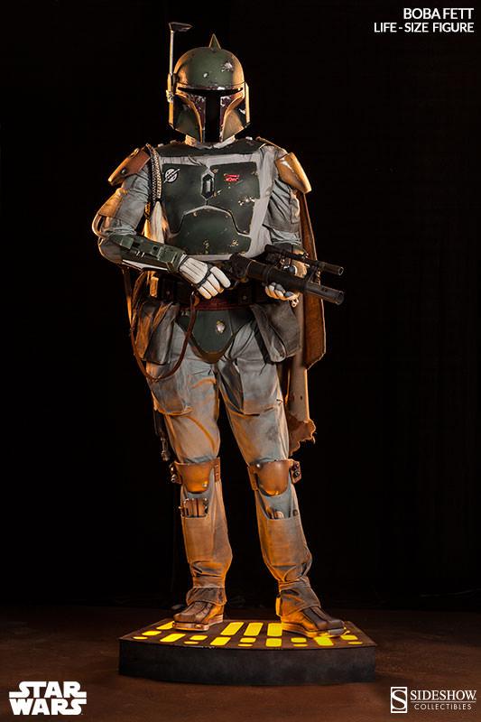 Life-Size Boba Fett Figure For Sale