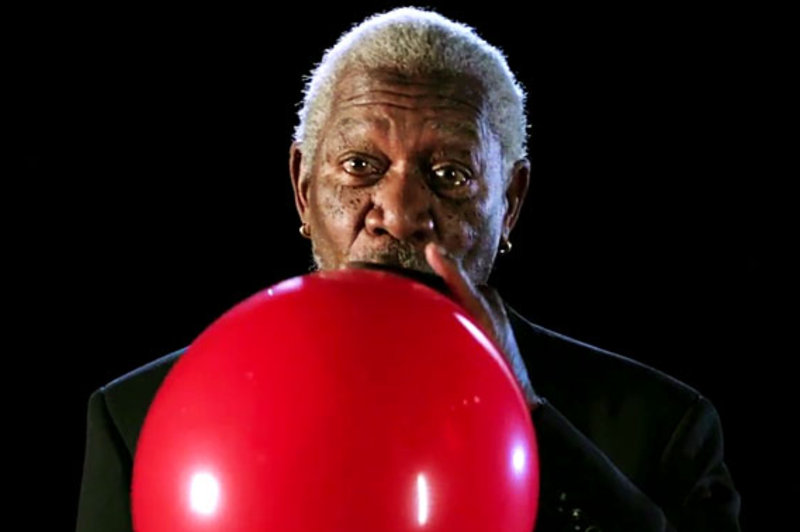 Morgan Freeman Teaching Us Physics While High on Helium