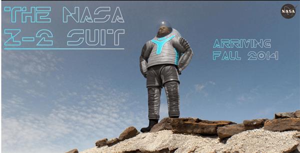 NASA Shows Off Latest Mars Suit Design