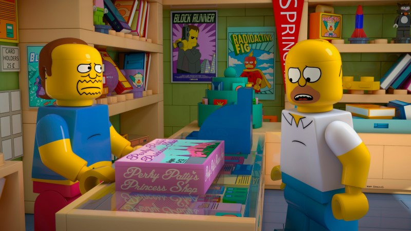 The Simpsons' LEGO Episode