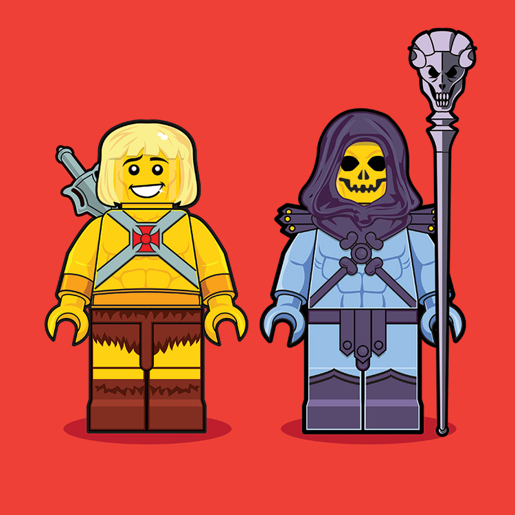 Classic Pop Culture Characters as LEGO Minifigures (15)