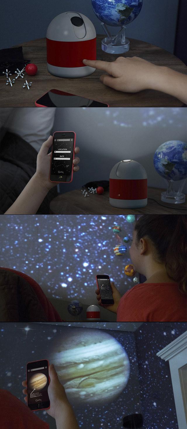 Luna A Smartphone Enabled Personal Planetarium Projector