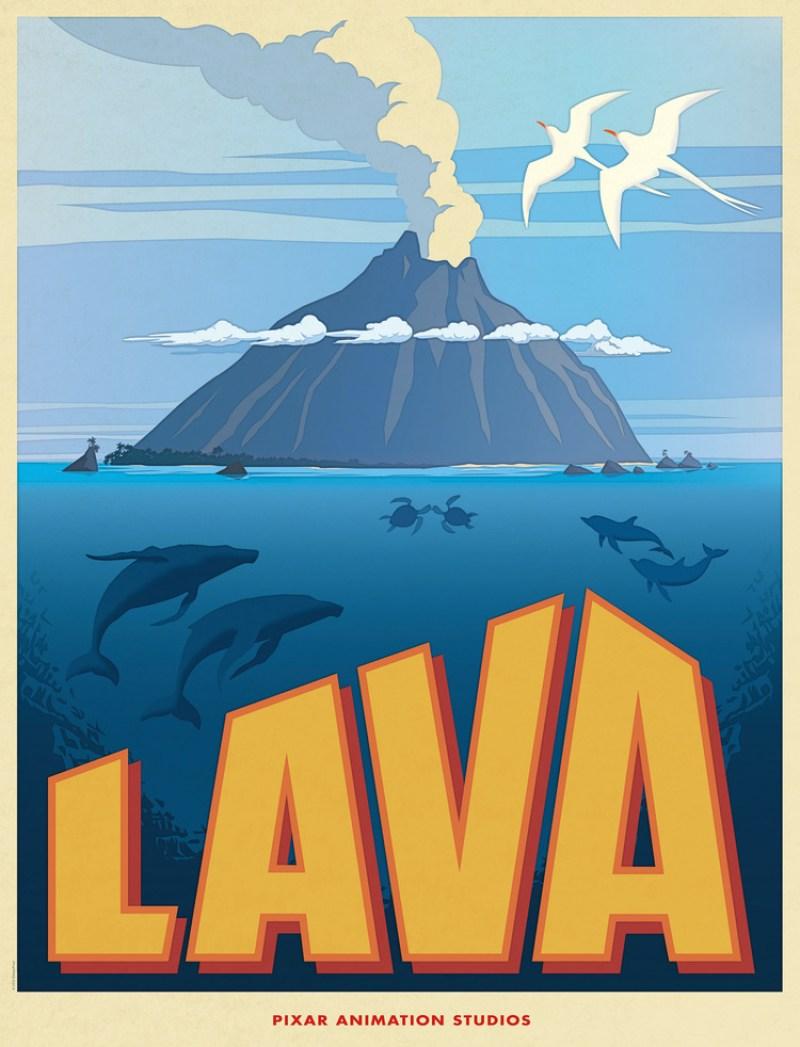 Pixar's New Short Film LAVA