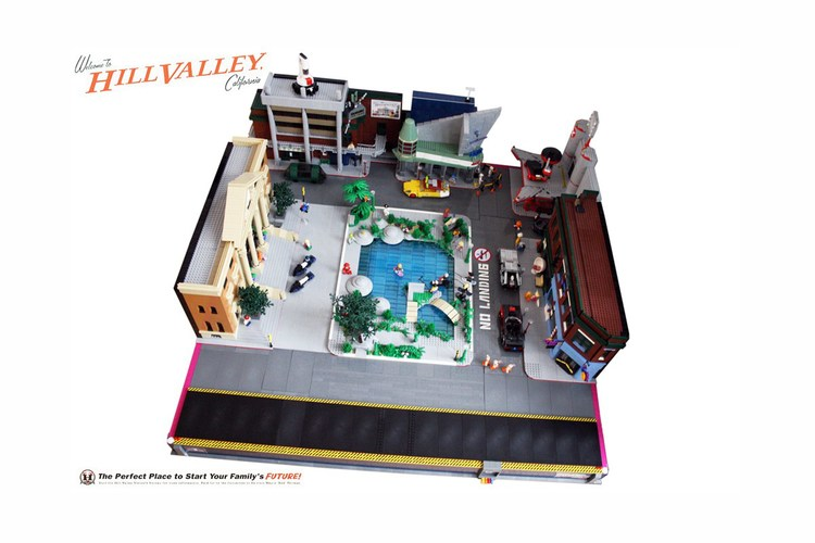 BACK TO THE FUTURE lego set (5)