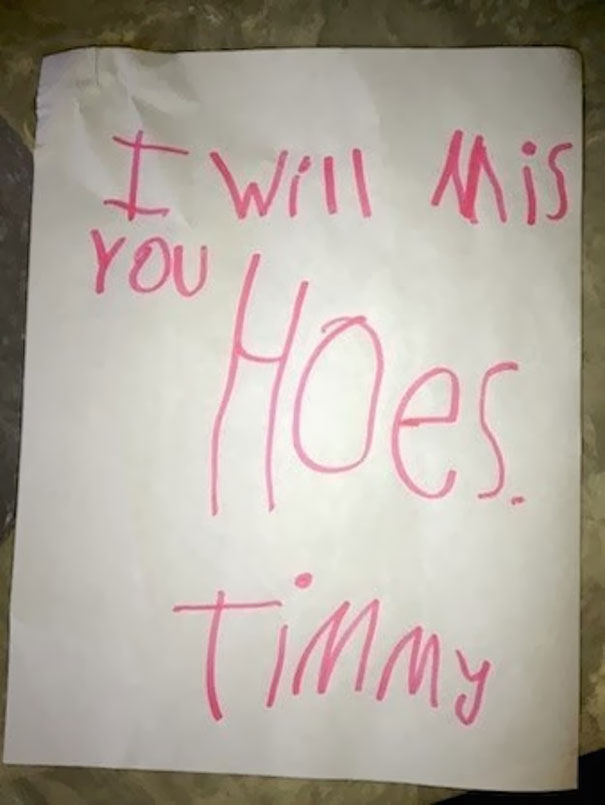 Childrens Hilariously Inappropriate Spelling Mistakes (16)