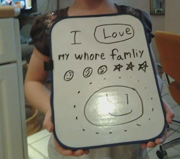 Childrens Hilariously Inappropriate Spelling Mistakes (8)