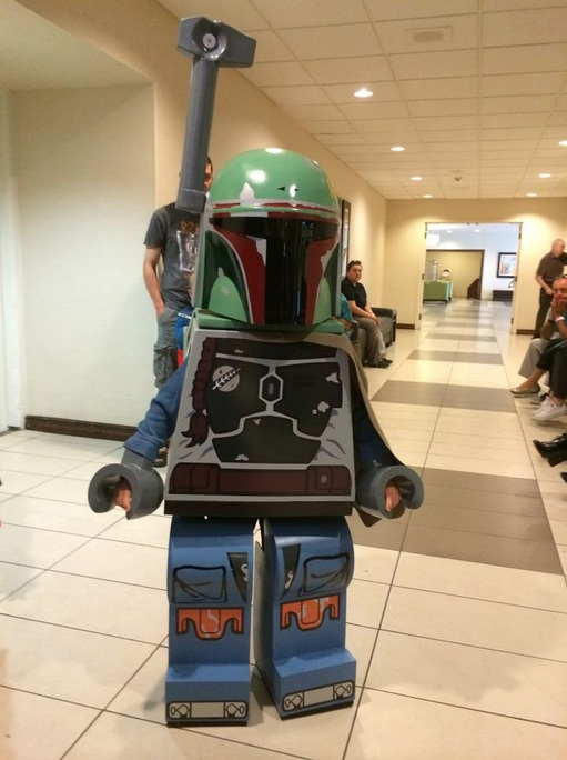 Insane LEGO Boba Fett Kid Costume