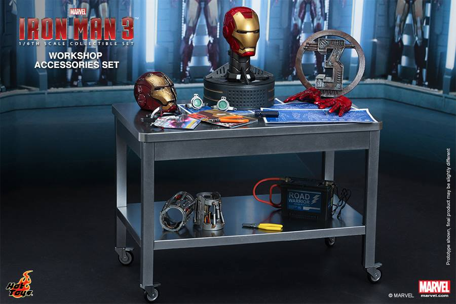 Iron Man 3 Workshop Accessories Collectible Set