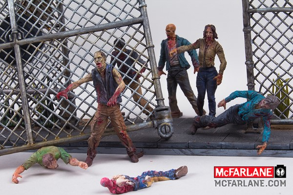 THE WALKING DEAD Building Block Sets from McFarlane Toys