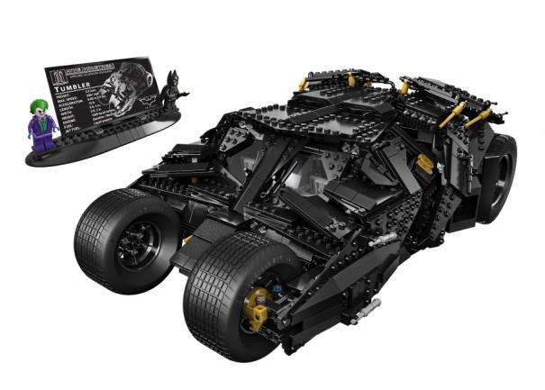 LEGO Dark Knight Tumbler Coming To Comic Con