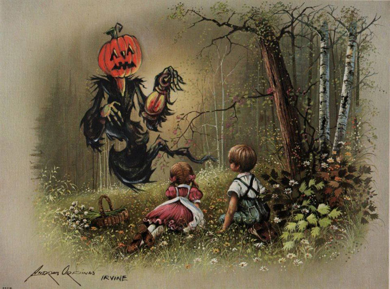 adding-characters-to-thrift-store-paintings-by-david-irvine-gnarled-branch-1