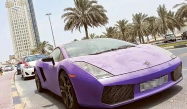 Abandoned Cars In Dubai