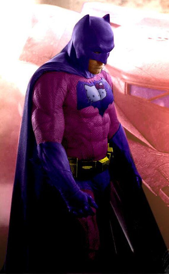 hello kitty batman