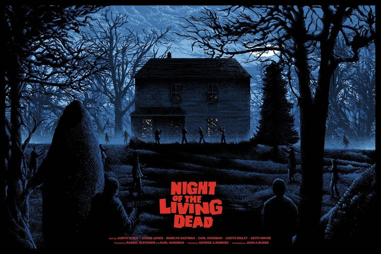 NIGHT OF THE LIVING DEAD Poster Art
