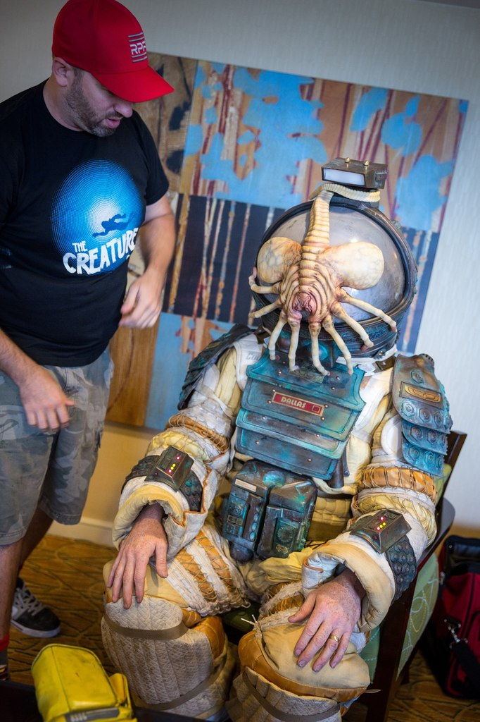 ALIEN Space Suit Cosplay by Adam Savage