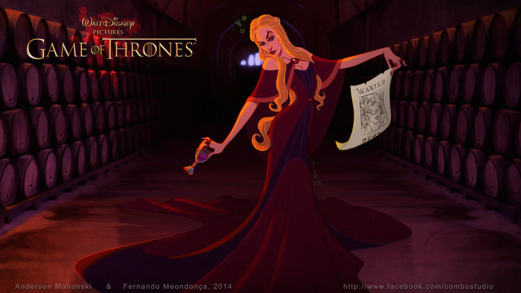 Disney Treatment To Game Of Thrones