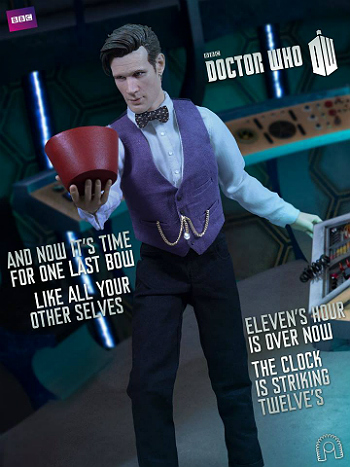 """12"""" Matt Smith Doctor Who Figure Is on the Way to Hurt Your Wallet"""