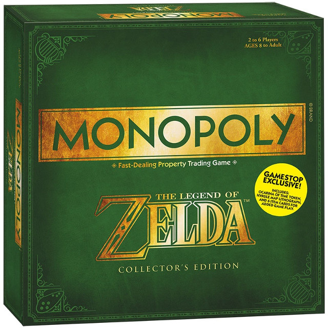 Zelda Edition Monopoly Coming Next Month