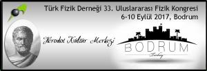 Türk Fizik Derneği 33. Uluslarası Fizik Kongresi @ Bodrum Herodot Kültür Merkezi   Muğla   Türkiye