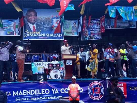 Élection-RDC : pendant la période de la campagne électorale nombreux candidats député du front commun pour le Congo avaient du mal a prononcé Emanuel Ramazani