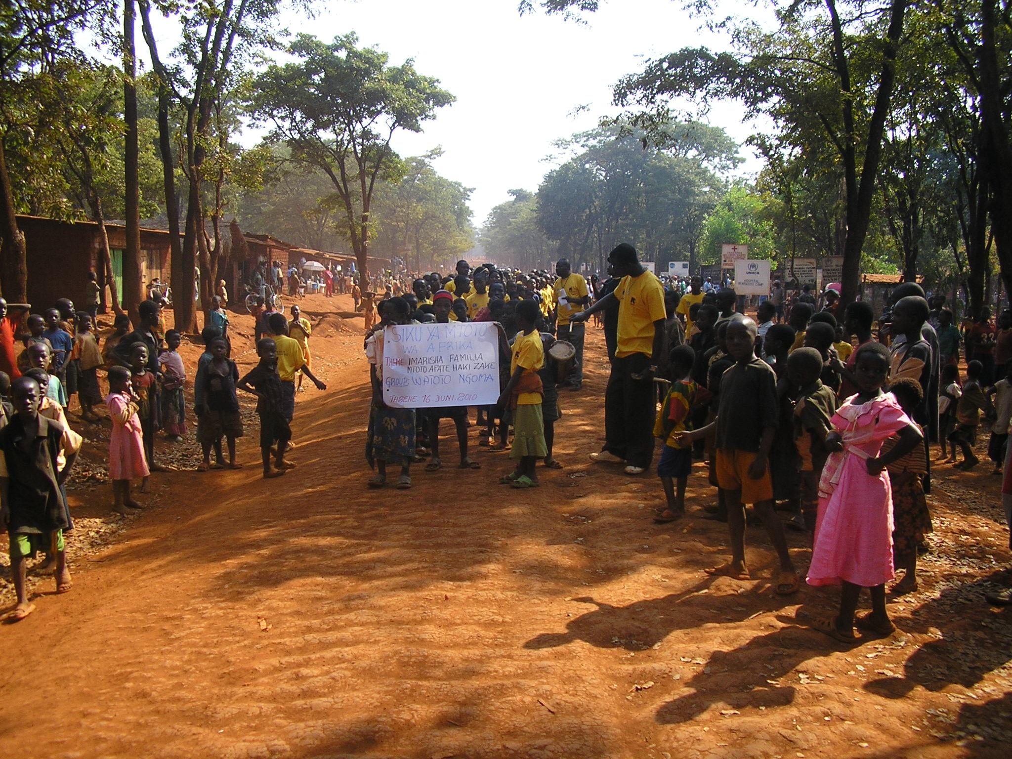 Nyarugusu-Camp : wa jambazi wana maliza kuiba watu vitu kambini Nyarugusu