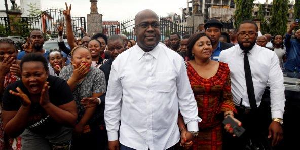 Présidentielle en RDC : joie et contestations après l'élection de Félix Tshisekedi
