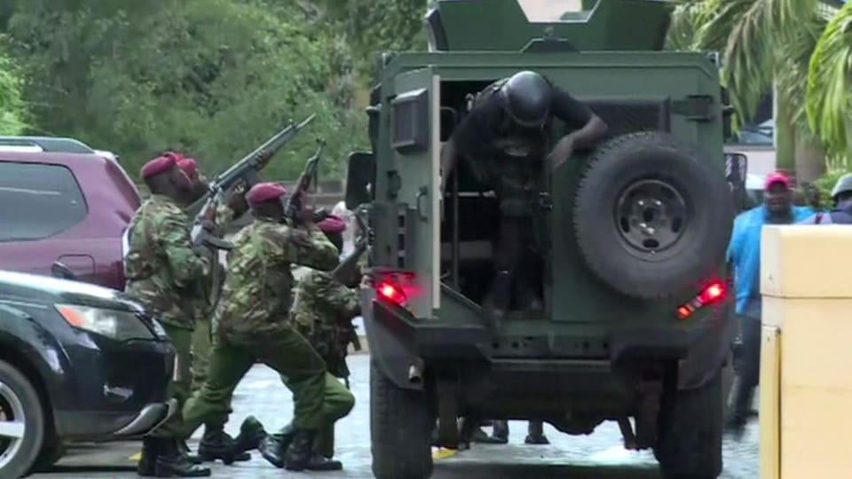 Kenya: bilan meurtrier après l'attaque d'un complexe hôtelier à Nairobi