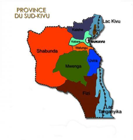 RDC- Sud-Kivu: l'une de 26 provinces riche de la République Démocratique du Congo avec 2428 kilomètres du réseau routier d'intérêt Nationale et Provinciale
