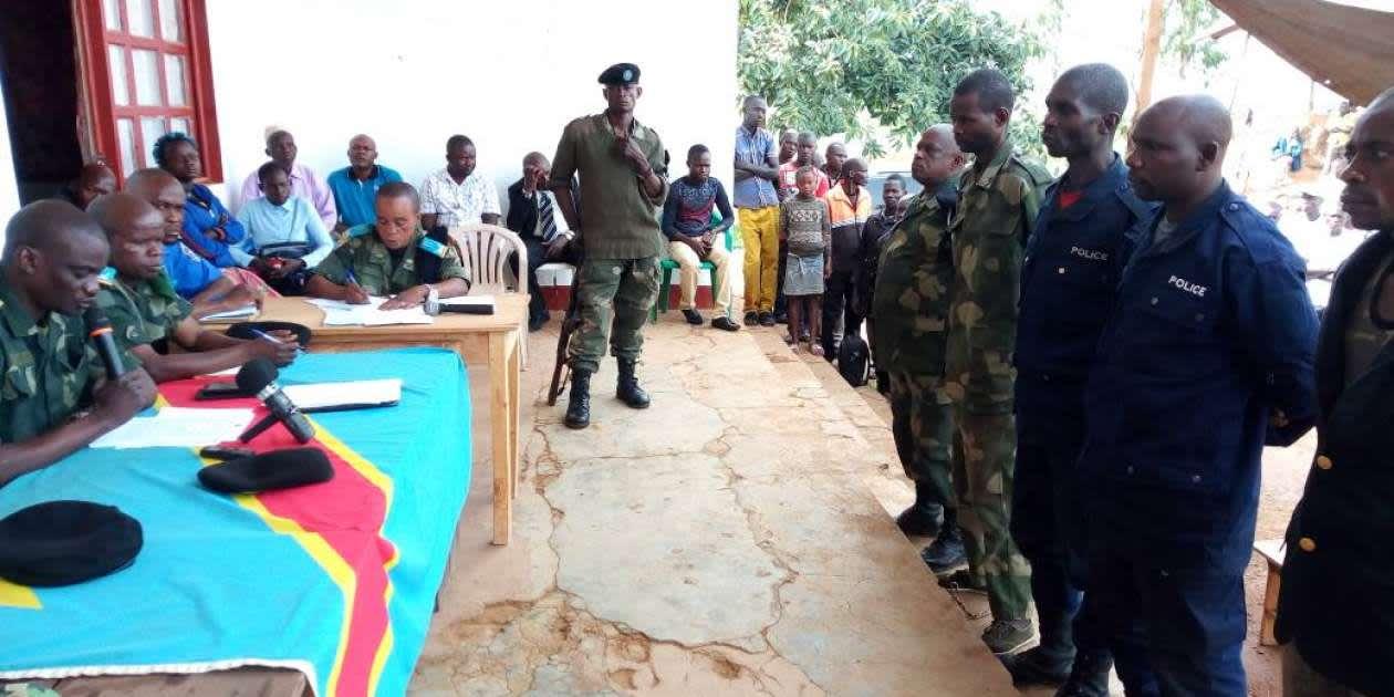 BÉNI-RDC : Le tribunal militaire garnison de Beni Butembo a été dans sa deuxième  journée d'audiences en flagrance