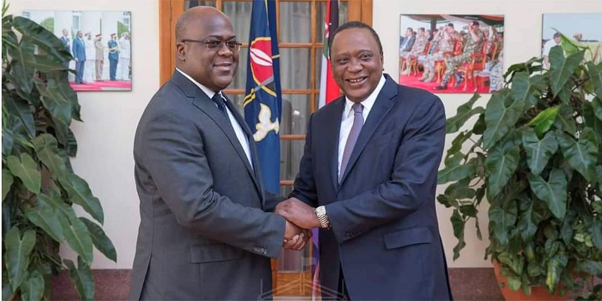 RDC:Visite de Tshisekedi au Kenya: Nairobi propose son aide pour stabiliser la RDC