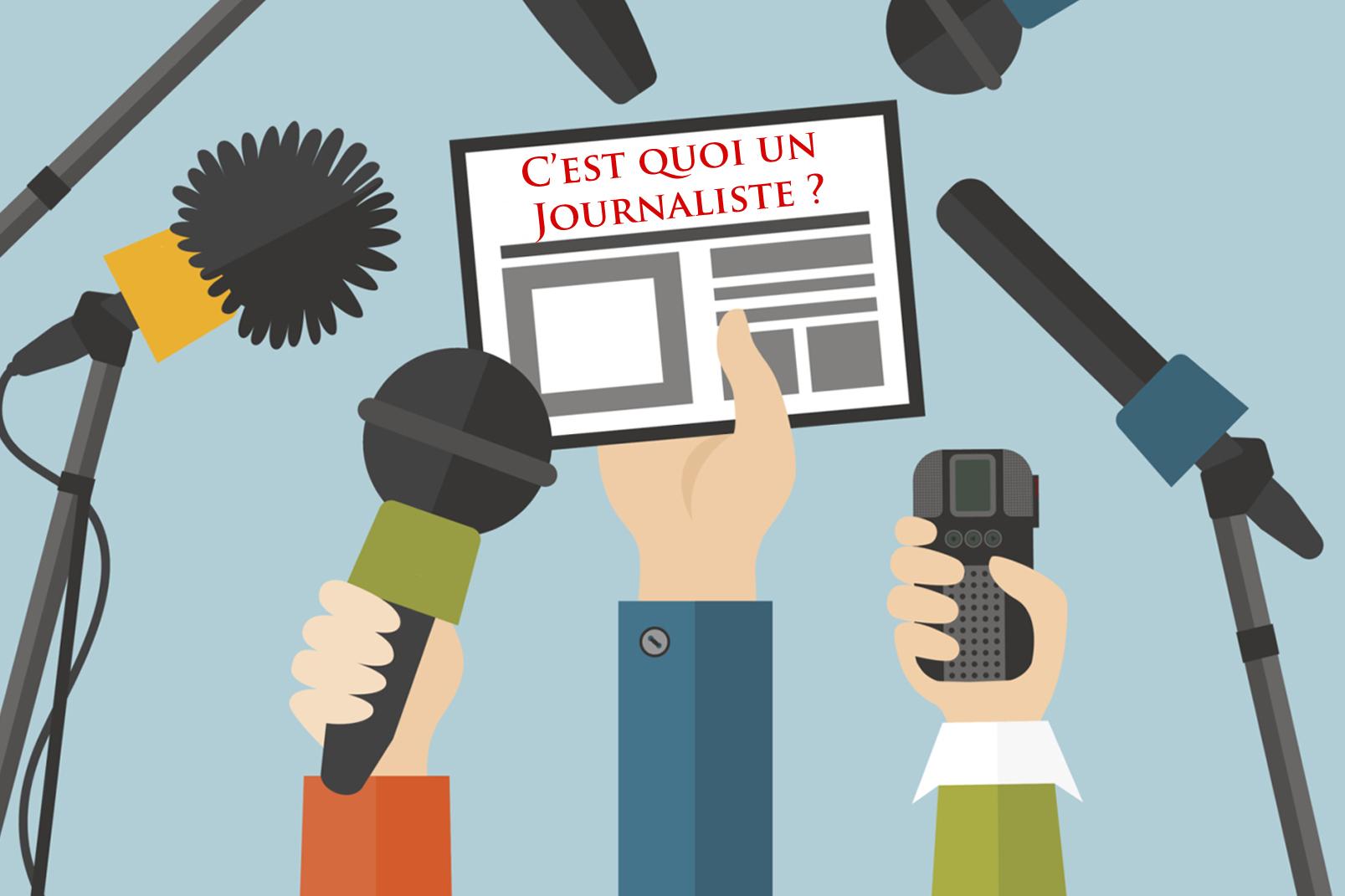 RDC : Un journaliste est une personne qui recueille, écrit ou distribue des informations.