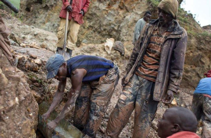 RDC : 14 morts dans l'éboulement d'une mine artisanale de cassitérite