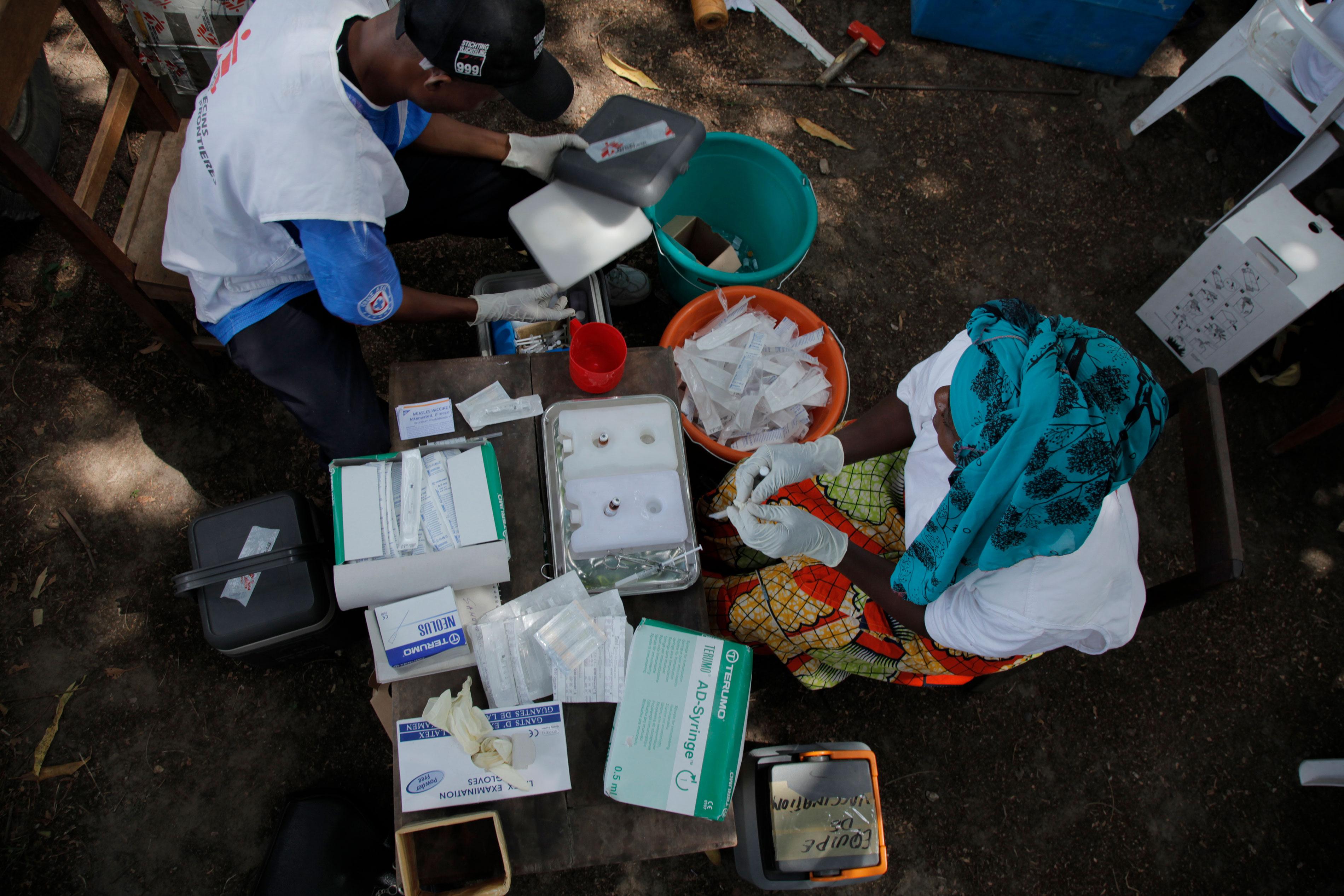 FIZI-KILEMBWE :le vaccin,source des maladies.