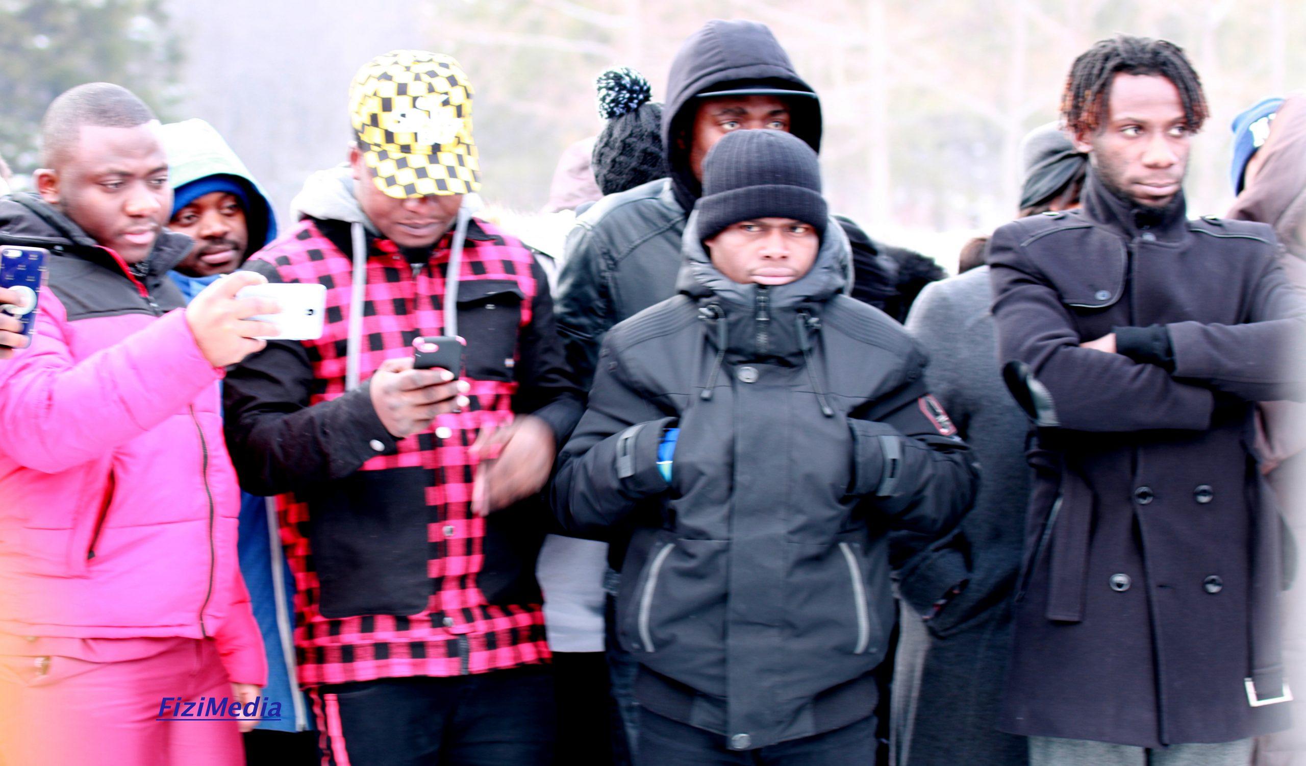 M'mbondo-Canada : l'enterrement de notre frère Kalenga Malùmbé, à Québec-city 01 février 2020