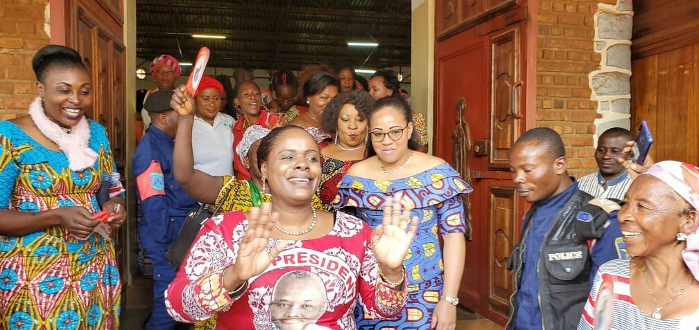 Sud-kivu: Madame Carole Asseli Kasi célèbre la JIF avec l'inter fédéral des femmes de l'UNC cher à Vital Kamerhe