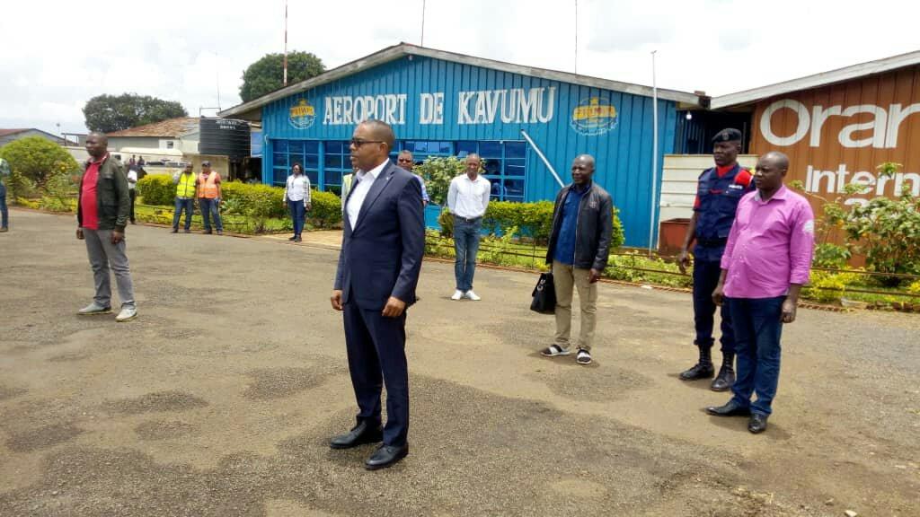 Sud-kivu: le gouverneur de province Théo Kasi s'est rendu à Kinshasa ce jeudi 12 mars 2020