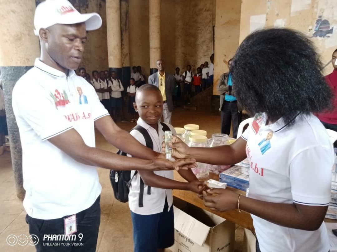 Sud-kivu: la fondation Kalehe Kwetu s'engage pour la lutte contre le corona virus