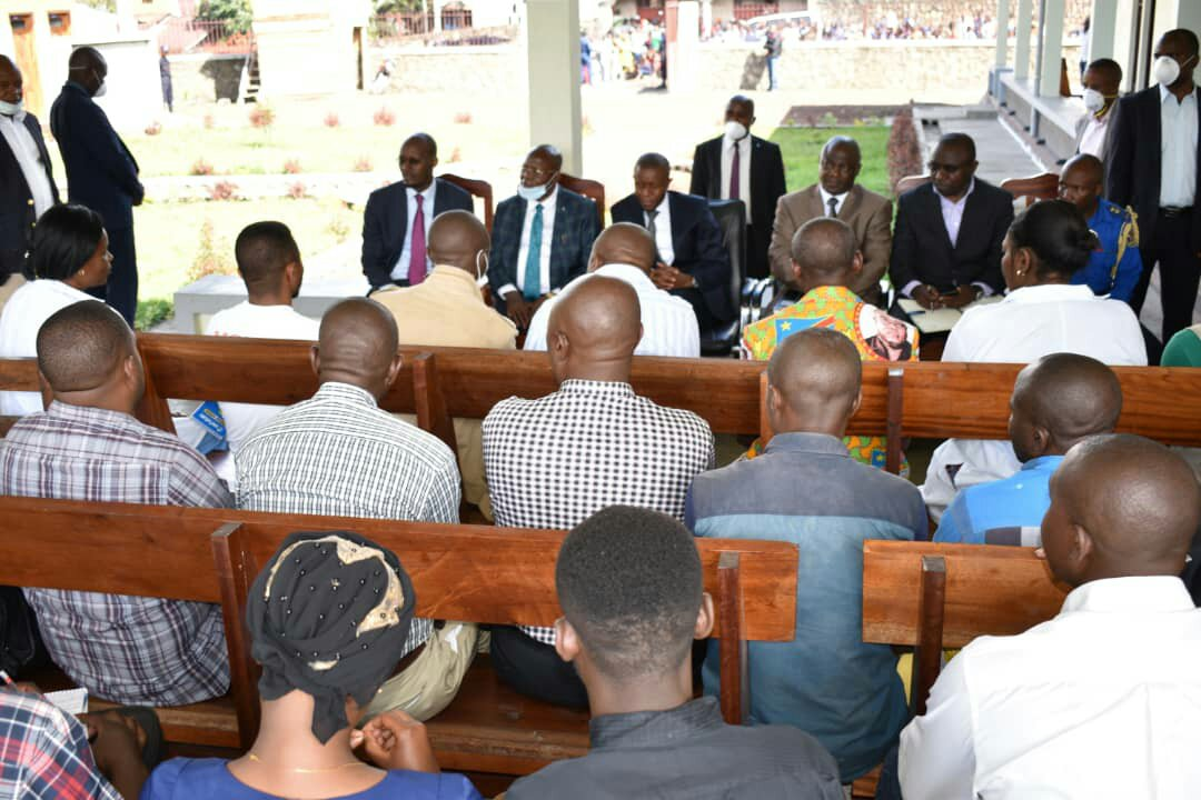 Nord-Kivu: le calumet de la paix vient d'être fumé entre la population du Quartier Keshero et la Zone de Santé de Karisimbi en ville de Goma