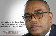 Sud-kivu- lutte contre le covid-19 : le Gouverneur de Province Théo NGWABIDJE Kasi coupe Bukavu du reste de la Province