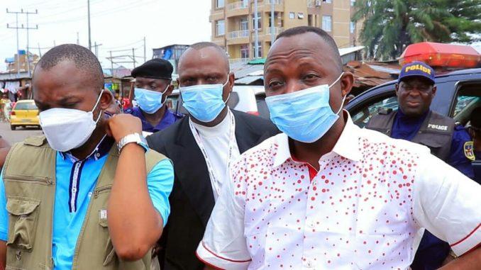 RDC -Kinshasa :Masque obligatoire , déconfinement du centre-ville à partir de mardi 21 avril 2020