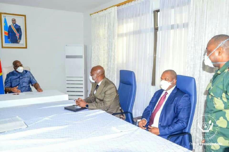 RDC: la paix et la sécurité au centre de l'audience accordée par le chef de l'État aux anciens seigneurs de Geurres de l'Ituri