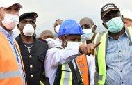 Nord-Kivu : le Gouverneur Carly Nzanzu Kasivita inspecte l'évolution de certains chantiers à Goma