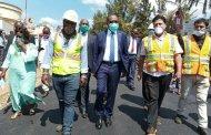 Bukavu : le Gouverneur inspecte l'évolution de certain chantiers à Bukavu